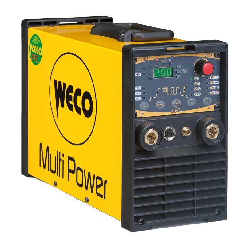 Multipower 204 T WIG-Schweiss-Stromquelle gibt es bei Proweld / Schweiz