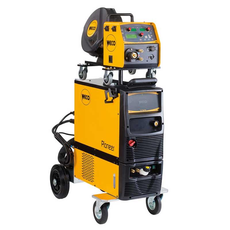 Pioneer 403 MSR MIG-MAG Schweiss-Stromquelle gibt es bei Proweld / Schweiz